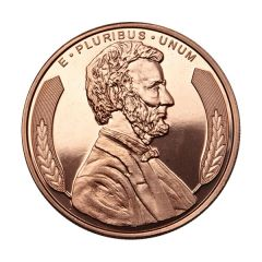 Lincoln Bust 1 oz Copper Round - Osborne Mint