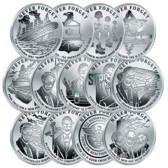 2017 Silver Shield Never Forget Series Complete Proof Set