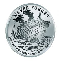 2017 Silver Shield Lusitania - Never Forget Series