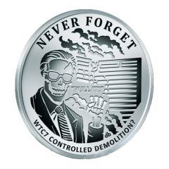 2017 Silver Shield World Trade Center Building 7 - Never Forget Series