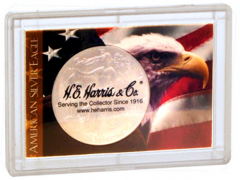 Perma Lock Case for American Silver Eagle - Patriotic