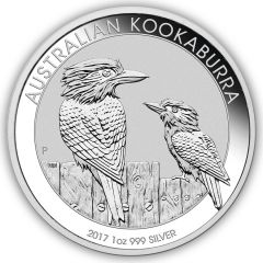 2017 1 oz Australian Kookaburra Silver Coin