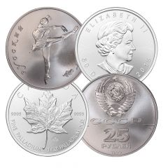 1 oz Palladium Coins - Random Design