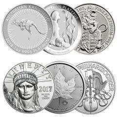 1 oz Platinum Coins - Random Year