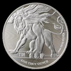 2018 Roaring Lion Niue Silver Coin 1 oz - SD Bullion Exclusive
