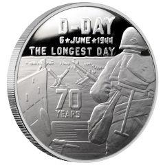 Heroes SDWC D-Day 1 oz Silver BU .999