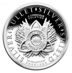 SBSS Silver Shield New Years 13/14 Silver Proof 1 oz