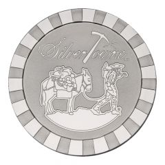 5 oz SilverTowne Prospector Stackable Silver Round