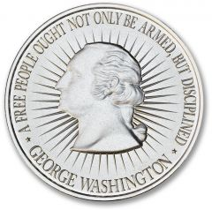 1 oz Bill of Rights Silver Round