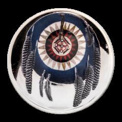 2018 Cherokee Jawbone Proof Silver Coin 1 oz