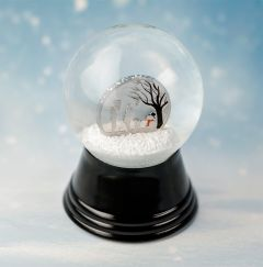 2019 1/10 oz Silver Winter Wonderland Globe