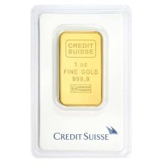 1 oz Credit Suisse Gold Bar - in Assay