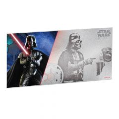 Star Wars A New Hope 5g Silver Foil - Darth Vader