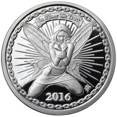 Reddit Silverbug Alyx the Fairy - 1 oz Silver Proof
