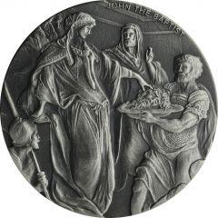 2018 2 oz John the Baptist Biblical Silver Coin Series