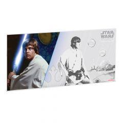 Star Wars A New Hope 5g Silver Foil - Luke Skywalker