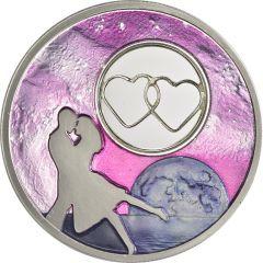 2018 Moonlight Dancer Proof Silver Coin 1 oz