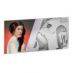 Star Wars A New Hope 5g Silver Foil - Princess Leia