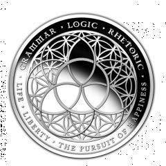 SBSS Trivium 1 oz Silver Half Proof