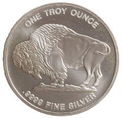 1 oz Silver Buffalo Round - Random Mint