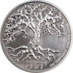 2019 Tree of Life Silver Coin 1 oz - SD Bullion Exclusive