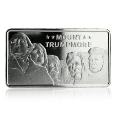 10 oz Mount Trumpmore Silver Bar