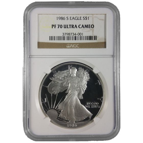 1986 S Silver Eagle Proof