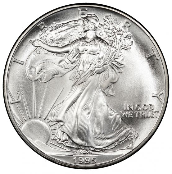 2009 American Silver Eagle in Air-Tite with Our Certificate of Authenticity