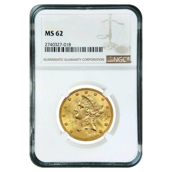 $10 Liberty Head Gold Eagle NGC MS 62 Random Year