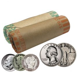 THE QUARTERS DEAL ALL 90/% US Junk Silver Coins $7.25  ONE!