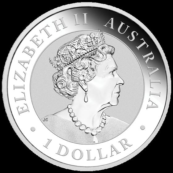 2018 2019 UNC $1 Australian Emu 1oz Silver Bullion Coin Set ONLY 30,000