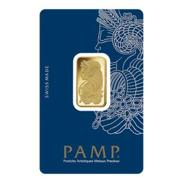 10 Gram Pamp Suisse Lady Fortuna Gold Bar In Assay
