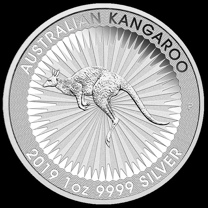 Perth Mint Kangaroo Silver Coins