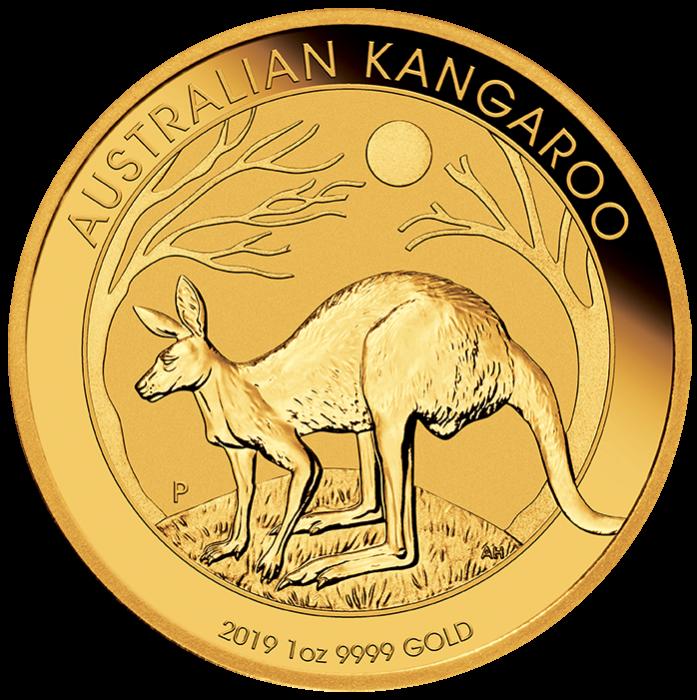 Perth Mint Kangaroo Gold Coins