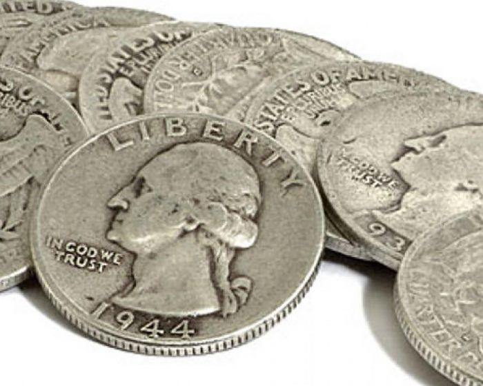 $1,000 Face Bag - 90% US Silver Coins