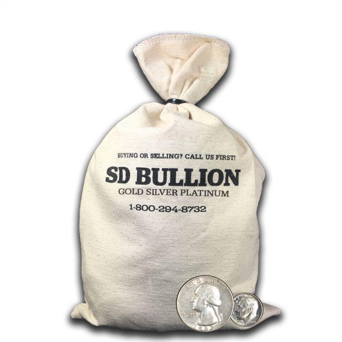 100 Face Bag 90 Us Silver Coins