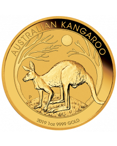 2019 Australian Kangaroo Gold Coin 1 oz