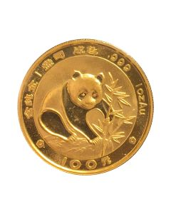 1988 1 oz Gold Chinese Panda Coin - In Original Mint Packaging
