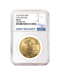 2019 1 oz NGC MS-70 Early Releases Gold American Eagle