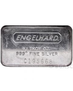10 oz Silver Engelhard Bar - Random Design