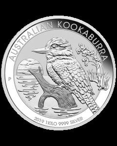 2019 Australian Kookaburra Silver Coin 1 Kilo