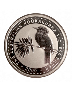 2000 1 oz Australian Kookaburra Silver Coin