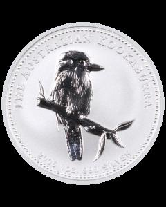 2005 1 oz Australian Kookaburra Silver Coin