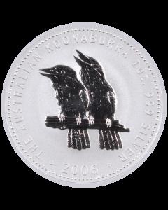 2006 1 oz Australian Kookaburra Silver Coin