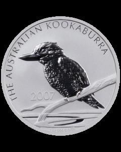 2007 1 oz Australian Kookaburra Silver Coin