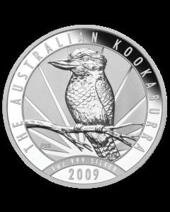 2009 1 oz Australian Kookaburra Silver Coin