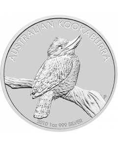 2010 1 oz Australian Kookaburra Silver Coin