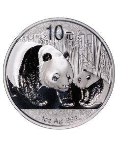 2011 1 oz Chinese Silver Panda BU (In Capsule)