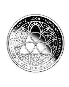 2012 Silver Shield Trivium 1 oz Silver Proof