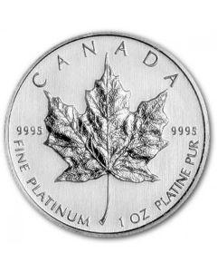 2012 1 oz Platinum Maple Leaf Coin